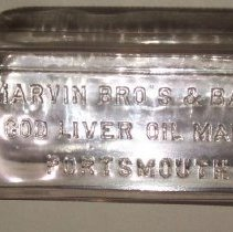Image of C06.001 - Marvin Bros. & Bartlett Cod Liver Oil Bottle
