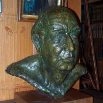 Image of C08.538 - Bust of Joseph W.P. Frost