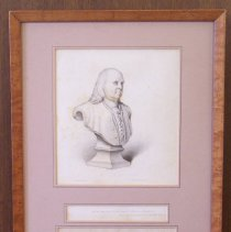 Image of Drawing of Benjamin Franklin