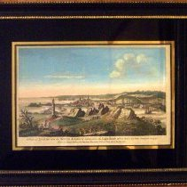 Image of C06.530 - A View of Louisbourg