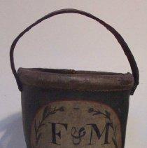 Image of C07.566 - Fire & Marine Insurance Company Fire Bucket