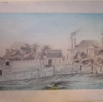 Image of C08.001.1-3 - Drawings of Lady Pepperrell House, Sally Cutts, Joseph Cutts