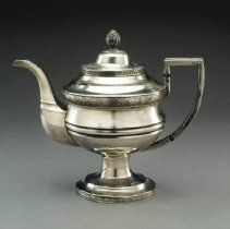 Image of C08.004 - Silver presentation teapot
