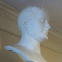 Image of C08.526 - Bust of Napoleon Bonaparte