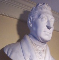 Image of C08.533 - Bust of General Marie Joseph Lafayette