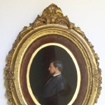 Image of C09.502 - Wax Portrait of Capt. Henry Townsend (1835-1873)