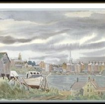Image of C09.505.06 - Portsmouth from Badger's Island