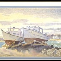 Image of C09.505.13 - Lobster Boats on Cradles