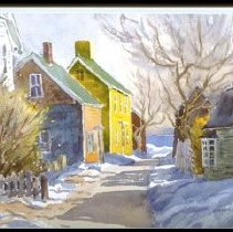 Image of C09.505.22 Goodhue Watercolor Salter Street