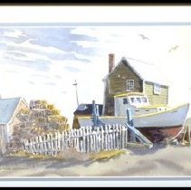 Image of C09.505.24 - House with Lobster Boats