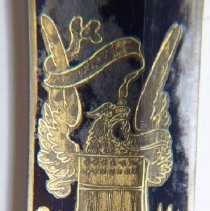 Image of C09.002-4 Saber: Detail of Eagle on Blade