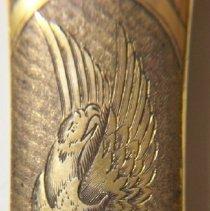Image of C09.002-5 Saber: Detail of Eagle on Scabbard