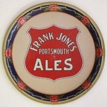 Image of C10.500.1-2 - Tin trays for Frank Jones Homestead Ale