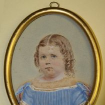 Image of C10.513 - Hand-painted Photograph of Edith Greenough Wendell