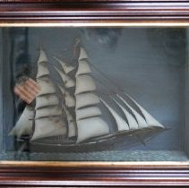 Image of C10.516 - Ship Model in Shadow Box