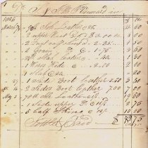 Image of S0026 - Vennard Account Book