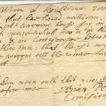 Image of S0389 - Miscellaneous manuscripts, 1660-1735. (S389).
