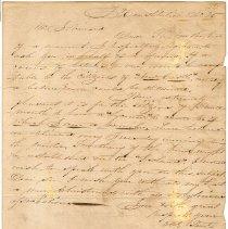 Image of S0792 - Connor, John, Letter