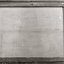 Image of C06.509-2 Reverse of Painting