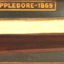 Image of C10.533 - Half-hull model of steamer 'Appledore'