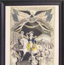 """Image of C10.541 - """"Washington's Reception by the Ladies"""""""