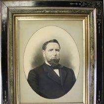 Image of C11.505 - Crayon Photograph of Frank Jones