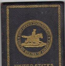 Image of C11.525.1-4 - Identification Cards of John H. Barltett