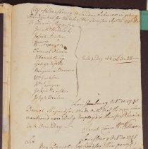 Image of MS107 B02 F91 - Louisbourg Payroll