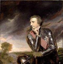 Image of Sir Jeffrey Amherst with Baton