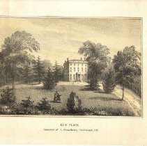 Image of C12.511 Print of Elm Place
