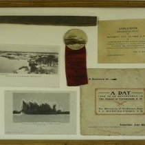 Image of C10.521 - Souvenir Assemblage of Explosion at Henderson's Point 1905