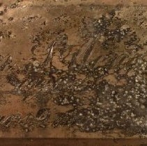Image of C12.554.1-8 - Wendell Family Coffin Plates