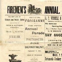Image of Portsmouth Fire Dept. - Ephemera