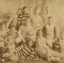 Image of PS2744 - Portmouth High School Football Team 1891