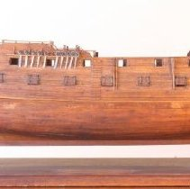 "Image of C07.518 - Ship Model ""HMS America"""