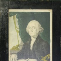 Image of C13.522 - Hand-Colored Lithograph of George Washington
