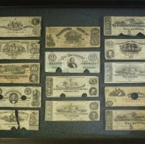 Image of C13.523 - Collection of Confederate Currency