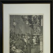 "Image of C14.500 - William Hogarth Engraving: ""Credulity, Superstition, and Fanaticism"""