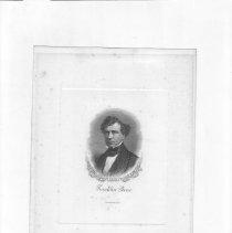 Image of V-036 - Print of Franklin Pierce