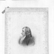 Image of V-045 - Engraving of Tobias Lear