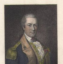 Image of V-049 - Engraving of General O.H. Williams