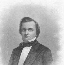 Image of V-059 - Engraving of Stephen A. Douglas