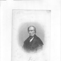 Image of V-061 - Engraving of Henry Clay