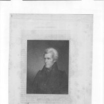 Image of V-065 - Engraving of Andrew Jackson