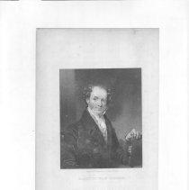 Image of V-067 - Engraving of Martin Van Buren