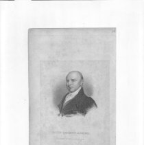 Image of V-068 - Engraving of John Quincy Adams