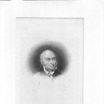 Image of V-070 - Engraving of John Quincy Adams