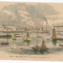 Image of V-072 - View of the United States Navy Yard