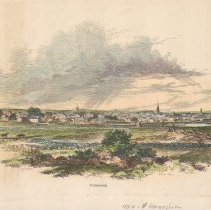 Image of V-074 - Hand-Colored View of Portsmouth