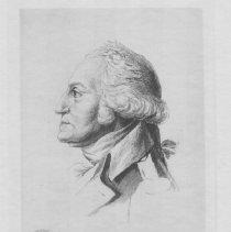 Image of V-077 - Engraving of George Washington and Saint-Memin
